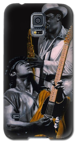 Bruce Springsteen And Clarence Clemons Galaxy S5 Case