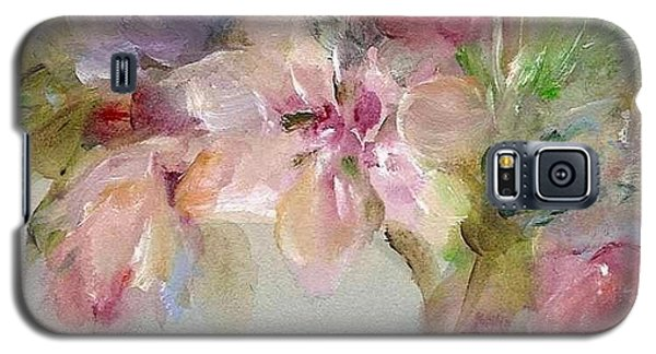 Galaxy S5 Case featuring the painting The Bouquet by Mary Wolf