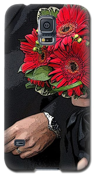 Galaxy S5 Case featuring the photograph The Bouquet by Zinvolle Art