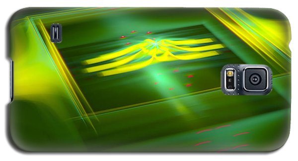 Galaxy S5 Case featuring the digital art The Box by Melissa Messick