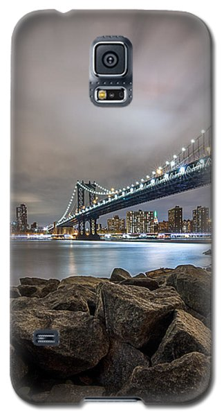Galaxy S5 Case featuring the photograph The Bridge Of 2 Cities by Anthony Fields