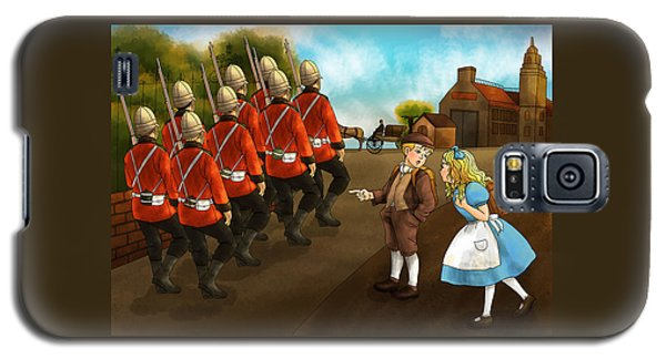 The British Soldiers Galaxy S5 Case by Reynold Jay