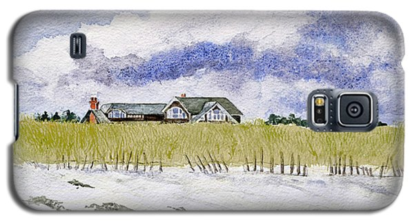 The Brown House On East Beach Galaxy S5 Case