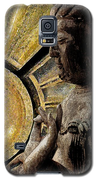 the Buddha  c2014  Paul Ashby Galaxy S5 Case by Paul Ashby