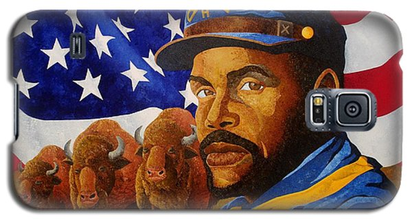 The Buffalo Soldier Galaxy S5 Case by William Roby