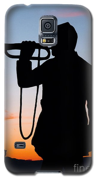 Galaxy S5 Case featuring the painting The Bugler by Karen Lee Ensley