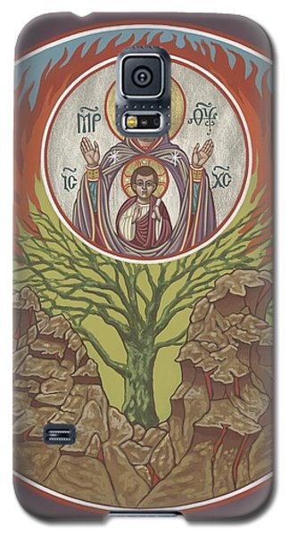 Galaxy S5 Case featuring the painting The Burning Bush 249 by William Hart McNichols