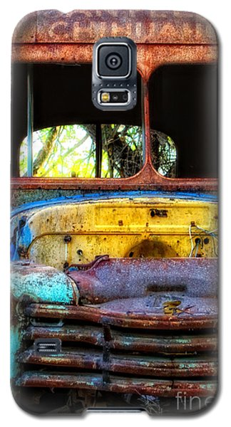 Galaxy S5 Case featuring the photograph The Bus Stops Here by Erika Weber
