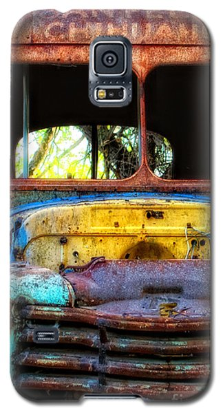 The Bus Stops Here Galaxy S5 Case by Erika Weber