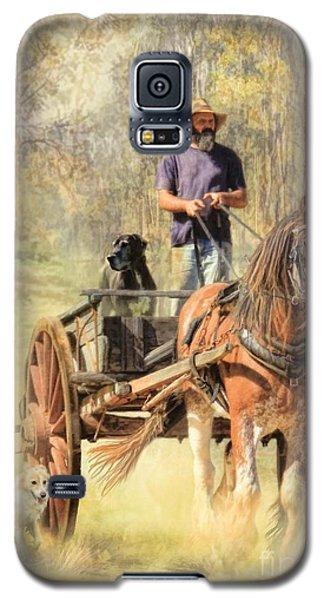The Bushmans Track Galaxy S5 Case