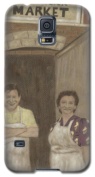 The Butcher And His Wife  Galaxy S5 Case