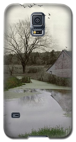 Galaxy S5 Case featuring the photograph The Calm by Mary Lou Chmura