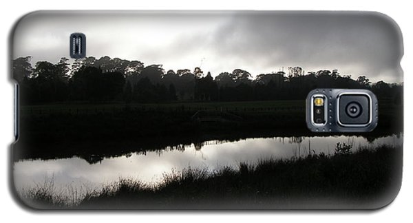 Galaxy S5 Case featuring the photograph The Canal by Bev Conover