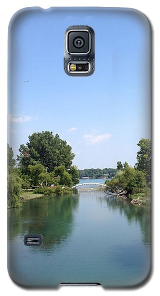 Galaxy S5 Case featuring the photograph The Canal by Michael Rucker