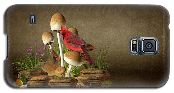 The Cardinal Galaxy S5 Case