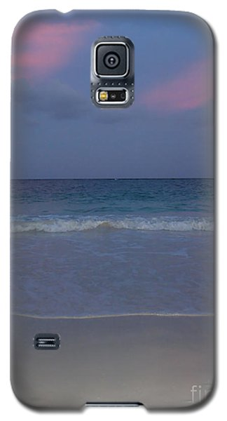 Galaxy S5 Case featuring the photograph The Caribbean Sunset by Ze  Di