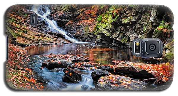 The Cascades Of Chesterfield Gorge Galaxy S5 Case