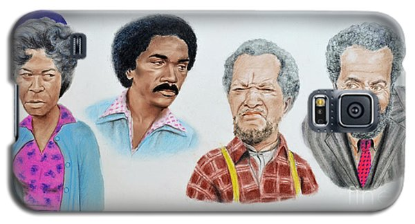 The Cast Of Sanford And Son  Galaxy S5 Case by Jim Fitzpatrick