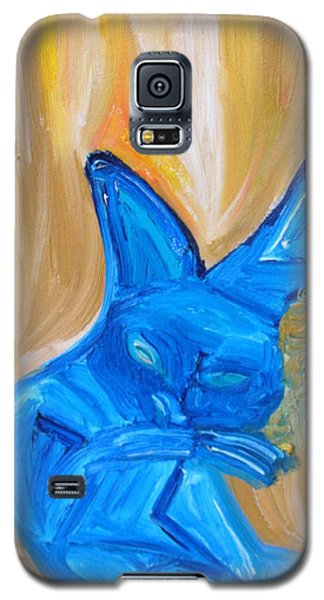 The Cat Camelion  Galaxy S5 Case by Shea Holliman