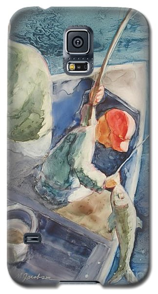 The Catch Galaxy S5 Case by Marilyn Jacobson