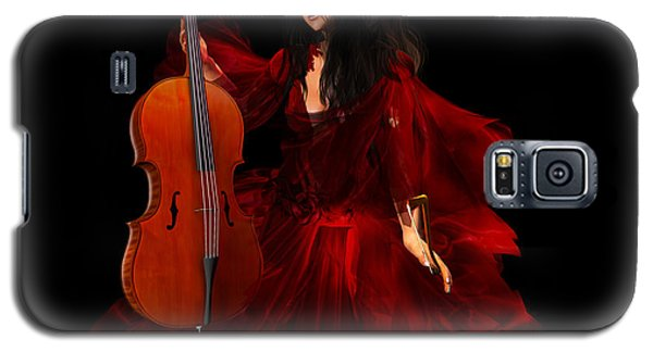 The Cellist Galaxy S5 Case by Kylie Sabra