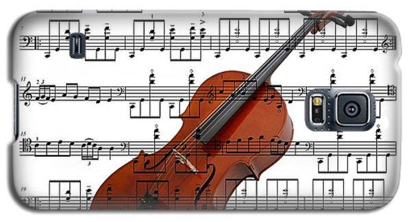 The Cello Galaxy S5 Case by Ron Davidson