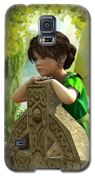 The Celtic Fairy Galaxy S5 Case