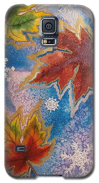 Galaxy S5 Case featuring the painting The Change by Margaret Bobb