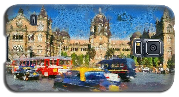 The Chatrapathi Station In Mumbai Galaxy S5 Case