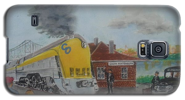 The Chesapeake And Ohio George Washington At South Portsmouth Station Galaxy S5 Case