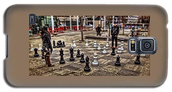 The Chess Match In Portland Galaxy S5 Case