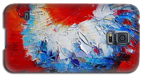 The Chicken Of Bresse Galaxy S5 Case by Mona Edulesco