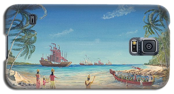 The Chinese Treasure Fleet Arrives Galaxy S5 Case
