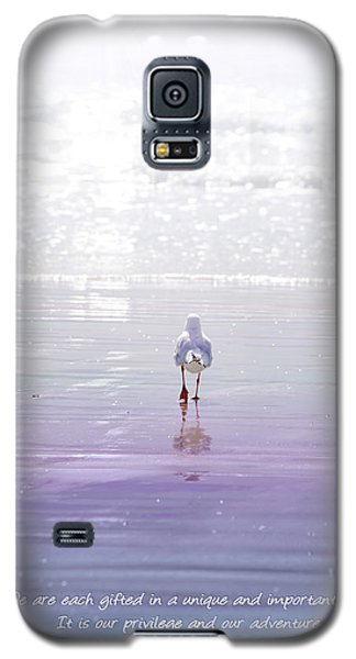 Galaxy S5 Case featuring the photograph The Chosen One by Holly Kempe