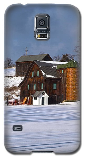 The Christmas Barn Galaxy S5 Case by Joshua House