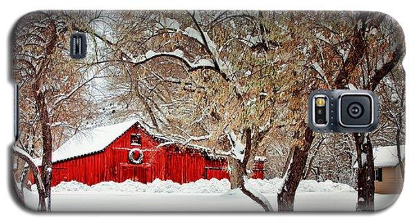 The Christmas Barn Galaxy S5 Case