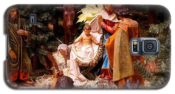 The Christmas Creche At Holy Name Cathedral - Chicago Galaxy S5 Case