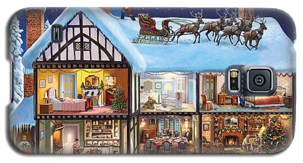 Christmas House Galaxy S5 Case by Steve Crisp