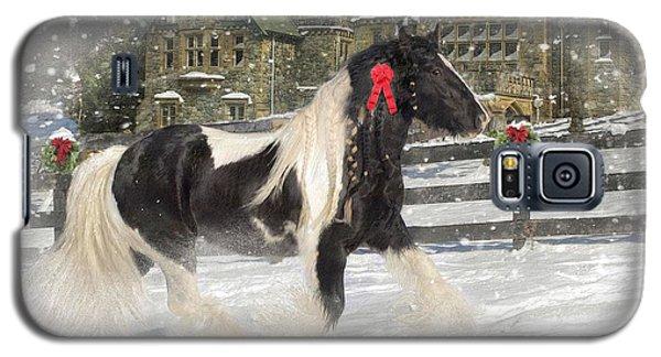 Card Galaxy S5 Case - The Christmas Pony by Fran J Scott