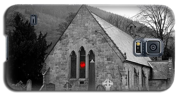 Galaxy S5 Case featuring the photograph The Church by Christopher Rowlands