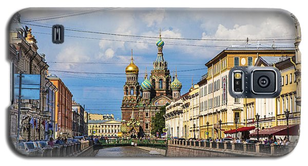 The Church Of Our Savior On Spilled Blood - St. Petersburg - Russia Galaxy S5 Case by Madeline Ellis