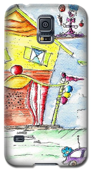 The Circus Clown Galaxy S5 Case