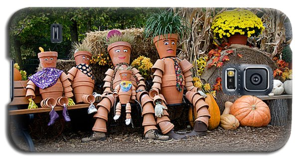 Galaxy S5 Case featuring the photograph The Clay Family by Vinnie Oakes