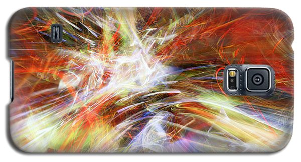 Galaxy S5 Case featuring the digital art The Cleansing by Margie Chapman