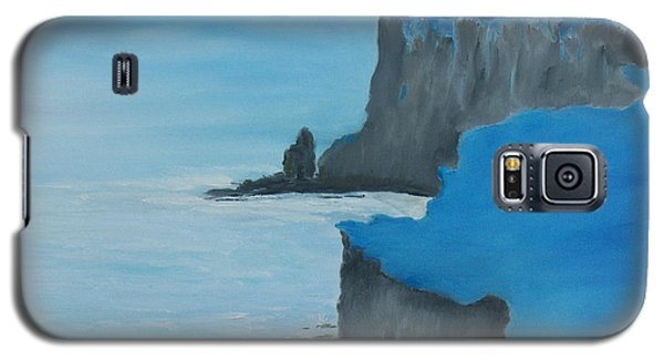 Galaxy S5 Case featuring the painting The Cliffs Of Moher by Conor Murphy