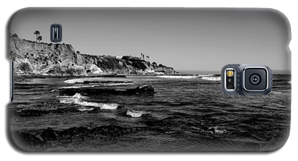 The Cliffs Of Pismo Beach Bw Galaxy S5 Case