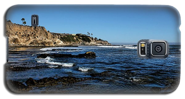 The Cliffs Of Pismo Beach Galaxy S5 Case by Judy Vincent
