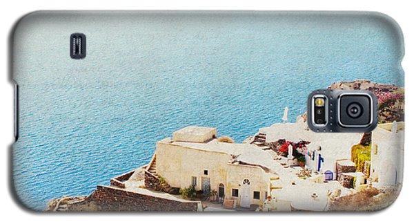 The Cliffside - Santorini Galaxy S5 Case