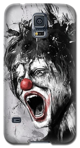 Surrealism Galaxy S5 Case - The Clown by Balazs Solti