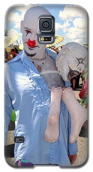 Galaxy S5 Case featuring the photograph The Clown by Ed Weidman